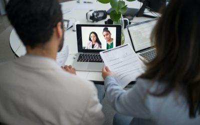 Bewerbungsgespräch per Video? Mit diesen Tipps meistern Sie es souverän!